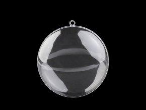 Plastový medailon Ø7 cm dvoudílný