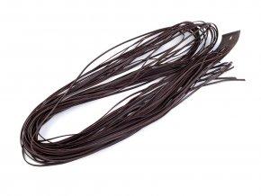 Kožený řemínek šíře 2 mm, 120 cm