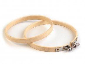 Vyšívací kruh bambusový Ø10 cm