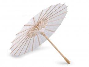 Dekorace papírový deštník k domalování Ø38,5 cm
