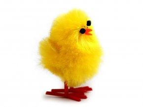 Velikonoční dekorace kuře 2,5x4 cm