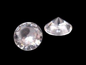 Dekorační diamantové kamínky Ø10 mm