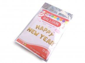 Nafukovací sada písmen HAPPY NEW YEAR