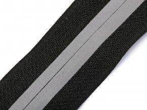 Zip spirálový krytý šíře 5 mm metráž reflexní