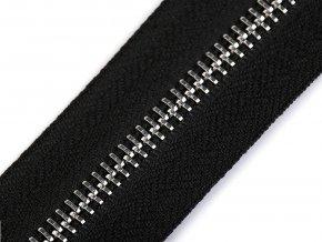 Zip kovový šíře 5 mm metráž