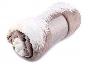 Prodloužená deka fleece