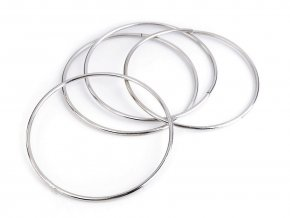 Kovový kruh na lapač snů / k dekorování Ø10,5 cm