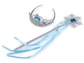 Karnevalová sada / korunka - ledová královna
