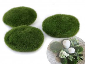 Dekorační mechové kameny