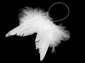 Dekorace andělská křídla malá