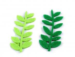 Filcové listy / větvička 23x50 mm malé