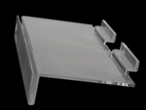 Plastová polička 11,5x25 cm