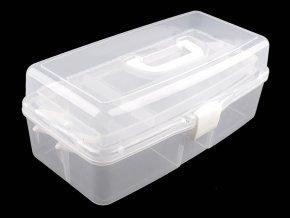 Velký plastový box / kufřík rozkládací
