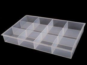 Plastový box / zásobník 23x34,5x4,5 cm