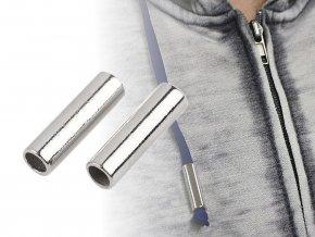 Koncovky na šňůru Ø5 mm / kovové ozdoby