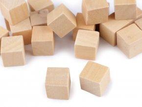 Dřevěné kostky 15x15 mm