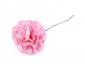Květ na drátku Ø45 mm