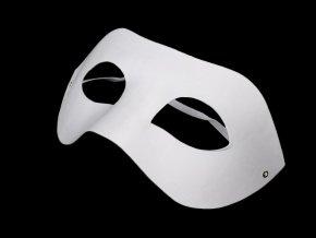 Maska na obličej k domalování, škraboška