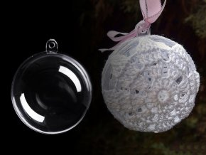 Plastová koule Ø5 cm dvoudílná