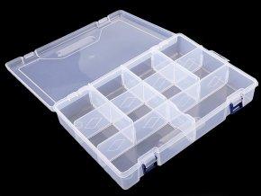 Plastový box / zásobník 6x20x30 cm