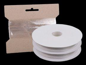 Silikonová pruženka / lastin šíře 20 mm elastická
