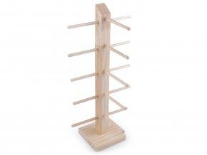 Dřevěný stojan na náramky / brýle 37 cm