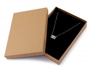 Krabička na šperky natural 12x16 cm