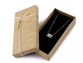 Krabička na šperky 7x14 cm