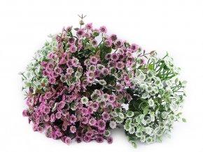 Umělá mini chryzantéma k aranžování