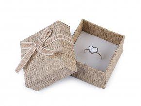 Krabička na šperky 5x5 cm