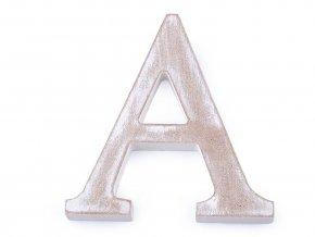 Dřevěná písmena abecedy vintage