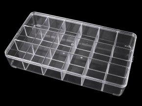 Plastový box / zásobník 16,5x29 cm