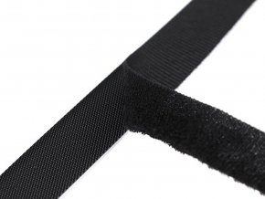 Nízkoprofilový suchý zip stříhaný 2x20 cm jemný