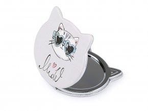 Kosmetické zrcátko kočka