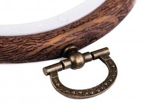 Vyšívací kruh / rámeček k zavěšení Ø9 cm