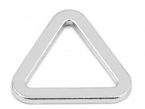 Průvlek trojúhelník plochý šíře 20 mm