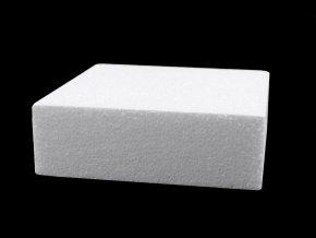 Čtvercový korpus / podstavec 15x15 cm polystyren