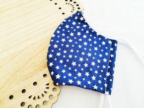 modrá rouška