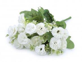 Umělá kytice mini karafiáty