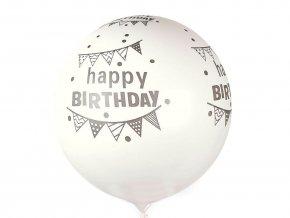 Nafukovací párty balónek velký Happy Birthday