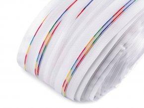 Duhový zip spirálový šíře 6 mm