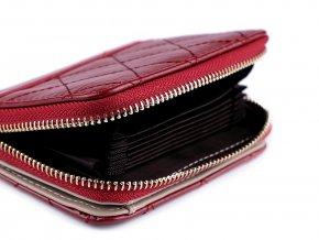 Peněženka prošívaná 9,5x12 cm