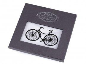 Pánský kapesník kolo, auto, motorka / dárková kazeta