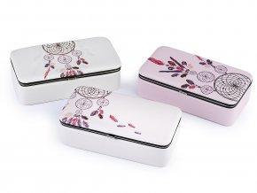 Malá šperkovnice lapač snů 5,5x9,5x18,5 cm