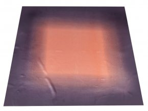 Saténový šátek duha 90x90 cm