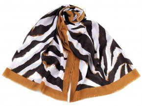 Šátek / šála zebra 80x180 cm