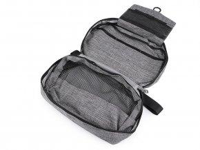 Kosmetická taška / závěsný organizér 15x23 cm