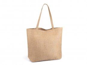 Jutová taška k dozdobení 35x45 cm