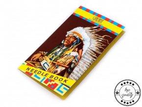 Jehly mapky indián Galant