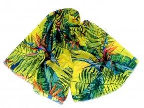Šátek / šála tropic 85x180 cm